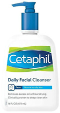 Cetaphil Daily Facial Cleanser For Normal To Oily Skin, Non Irritating, 473ml