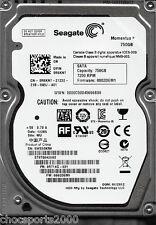 "Seagate Momentus ST9750420AS 750GB P/N: 9RT14G-031 F/W: 0002DEM1 WU SATA 2.5"""