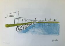 Nelson Mandela The Habour from My Robben Island Limited Edition Bookplate Print