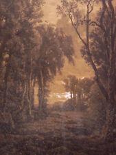 Léon SIMON (1836-1910) Paysage Metz Mine de plomb Migette Auguste Hussenot