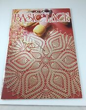 Crochet Basic Lace, Nihon Vogue Staff (1986, Paperback) Written In English