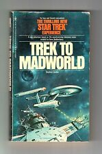 TREK TO MADWORLD (SIGNED by Stephen Goldin/1st US/PBO/Star Trek TOS)