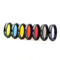 """1.25"""" Moon&Planetary Filter+CPL Filter+Color Filter Set Telescope Eyepiece Parts"""