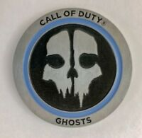 Rare Call of Duty Ghosts Video Game 3D Metal Challenge Coin Military Exclusive