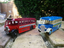 DAYS GONE by Lledo lot 2 BUS AEC REGAL OXFORD et SOUTHEND comme neuf sans boite