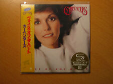 "CARPENTERS ""Voice Of The Heart""  Japan mini LP SHM CD"