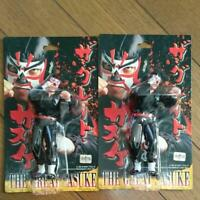 Set of 2 The Great Sasuke  Pro Wrestling Figure toy doll Japan NJPW AJPW WWE WWF