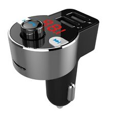 Bluetooth Hands Free Car Kit FM Transmitter - 3.1A Car Charger
