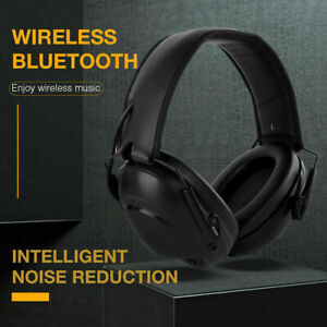 Bluethooth Hearing Protector Electronic Noise Cancelling Ear Muffs for Hunting