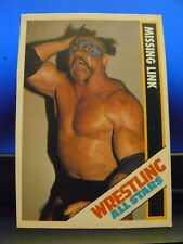 1985 Wrestling All Stars Trading Cards #14 Missing Link Hand-Cut