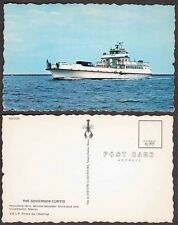 Old Maine Postcard - Vinalhaven - Governor Curtiss Ferry