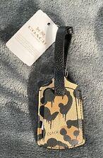 Coach - Luggage Tag in Wild Beast Print (Leopard) 93478