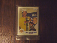Scarce, 1986 Star Brand, Lakers 85 Champs Factory Sealed Bagged Set...18 cards..