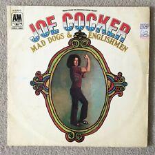 Joe Cocker. Mad Dogs and Englishmen. Vinyl LP Record.
