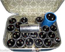 NOS, Lot of 22, Vintage, GENERAL ELECTRIC, GE, SANGAHMD, SPRAGUE CAPACITORS