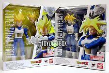 "S.H. Figuarts Dragonball Z ""Super Saiyan Vegeta + Armored Trunks""  Action Figure"
