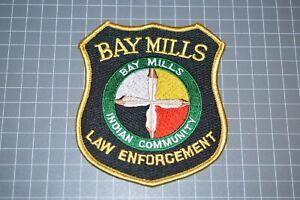 Bay Mills Michigan Indian Community Law Enforcement Patch (B17-A6)