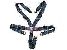 Universal 5 Point Safety Seat Belt Shoulder Harness Go Kart Off Road Cart Parts
