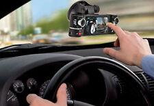 "Dash Cam 2.7"" TFT LCD Dual Camera Rotated Lens Car DVR w/ IR Night Vision - NEW"