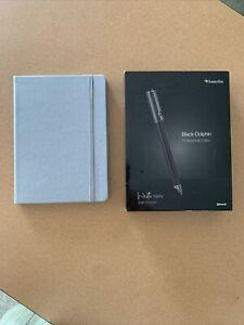 Livescribe Aegir Black Dolphin Professional Edition Smart pen W Lined Journal 1