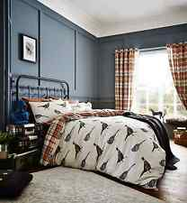 Catherine Lansfield Heritage Birds Cotton Rich Reversible Double Duvet Set