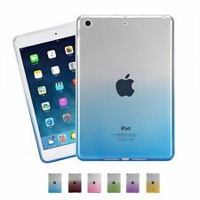 Clear Transparent Ultra Thin Colorful Soft TPU Case Cover For IPad Air Mini2/3/4