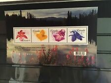 Canada mint never hinged Flower stamp sheet R21722
