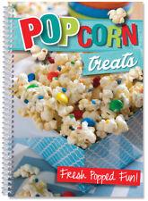 Popcorn Treats Homemade Style Cookbook color photo recipes, Molasses Corn, Ranch