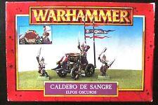 OOP Warhammer / Marauder Miniatures Chaos Dark Elves Cauldron Of Blood BNIB