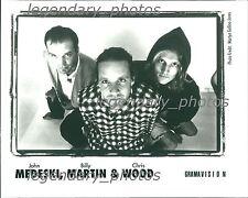 John Medeski, Billy Martin & Chris Wood Gramavision Original Press Photo