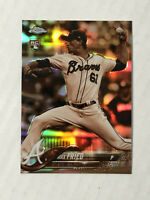 MAX FRIED 2018 Topps Chrome SEPIA SP RC REFRACTOR #66! BRAVES! CHECK MY ITEMS!