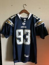 San Diego Chargers Luis Castillo Sewn On Jersey Size 48