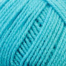 James C Brett Top Value Double Knitting DK Wool Yarn - Bright Turquoise 847