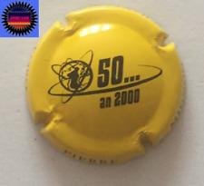 Capsule de Champagne PIERRE MIGNON Cuvée 50 ans, An 2000 Jaune n°S3 !!!