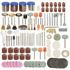 "166pc Rotary Tool Accessory Set for  1/8"" Shank Electric Grinding Sanding Polish"