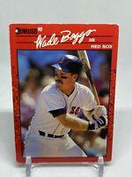 1990 Donruss ⚾️ WADE BOGGS #68, Boston Red Sox 🏆HOF