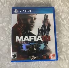 MAFIA III PLAYSTATION 4 PS4 VIDEO GAME COMPLETE WITH MANUAL TESTED WORKS!