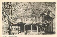 SACKVILLE, New Brunswick  Canada   MARSHLANDS INN  ca 1940s   Postcard
