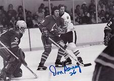 "Don Awrey Colorado Rockies Autographed 5""x7"" Hockey Photo W/COA"
