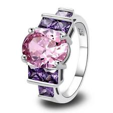 Silver Plated Amethyst Handmade Fashion Jewellery