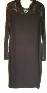 Excellent Condition Blooming Marvellous Black Maternity Dress Size 12