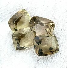 ONE 12x10 12mm x 10mm Cushion Brazil Smoky Quartz Citrine Gemstone Gem EBS3043SC