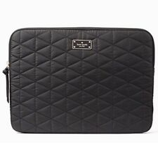 "NWT Kate Spade Blake Avenue Quilted Laptop Sleeve For 13"" Macbook Black"
