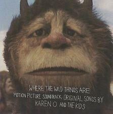 WHERE THE WILD THINGS ARE Soundtrack CD BRAND NEW Karen O And The Kids
