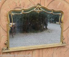 Specchiera con cornice mossa cimasa centrale epoca '900