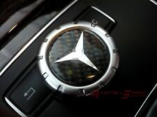 REAL CARBON FIBER COMMAND CONTROLLER KNOB INSERT FOR 11+ MERCEDES BENZ CLS W219