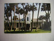 VINTAGE PHOTO POSTCARD OF THE ROYAL POINCIANA CHAPEL IN PALM BEACH, FLORIDA