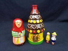 Poland Matryoshka Fairy Tale Hansel & Gretel 5 Piece Nesting Doll Polish