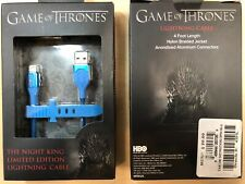 OEM Game of Thrones iPhone 4FT MFI Lightning Braided Charge & Sync Cable in Blue