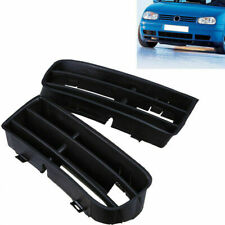 Pair for VW Golf MK4 98-06 Front Bumper Grilles Fog Lights Lower Grilles Cover